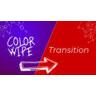 Color Wipe Transition DR 17
